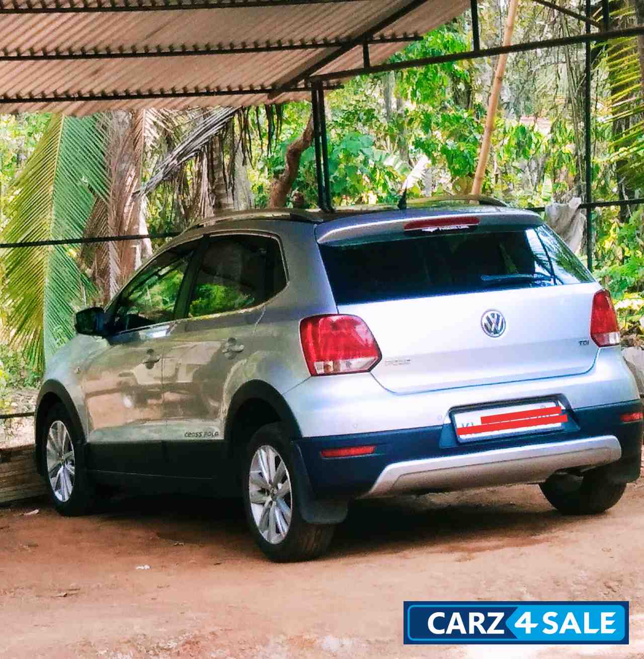 Silver Volkswagen  Cross polo