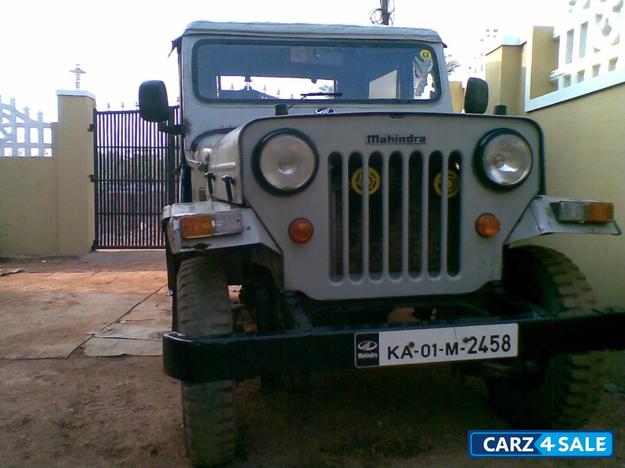 Original Grey Mahindra Jeep For Sale In Bangalore Its