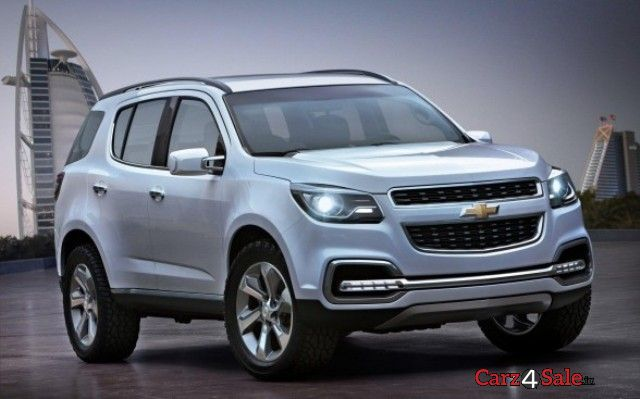 Chevrolet Trailblazer LTZ 2.8 4X4 AT