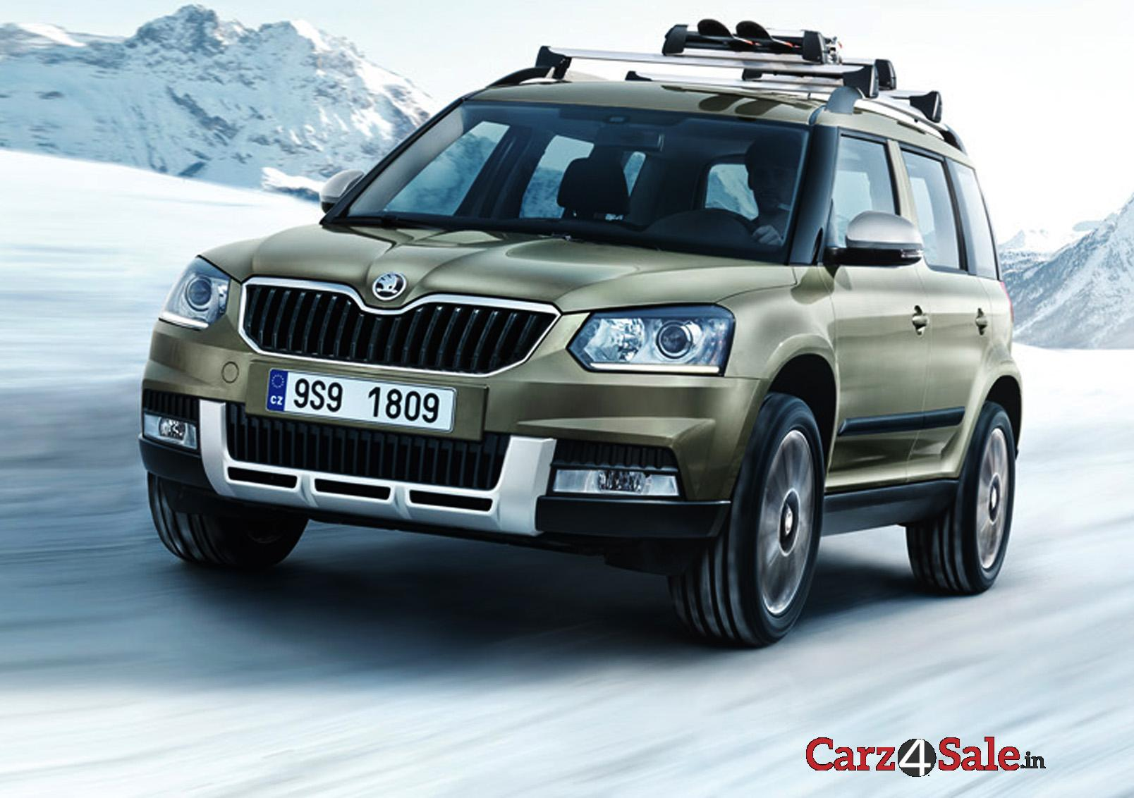 2015 skoda yeti first look review carz4sale. Black Bedroom Furniture Sets. Home Design Ideas