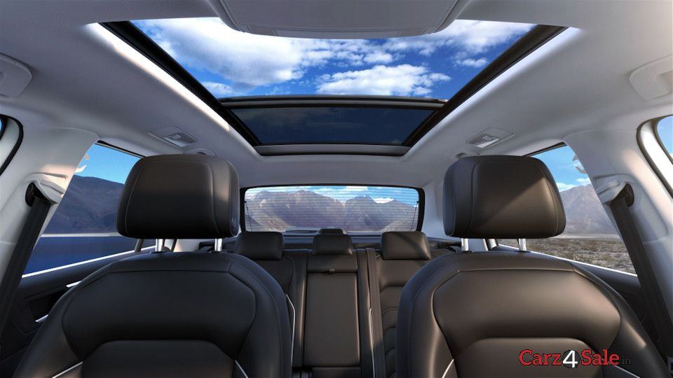 Wide sunroof
