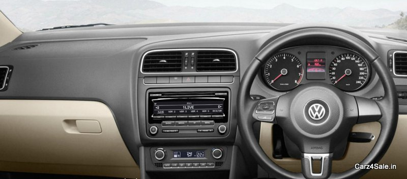 New Volkswagen Vento Interior and GPS