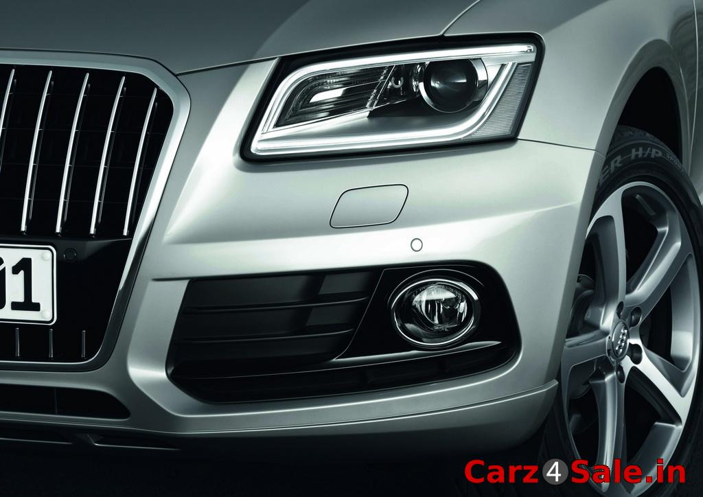 2013 Audi Q5 headlight and fog lamp