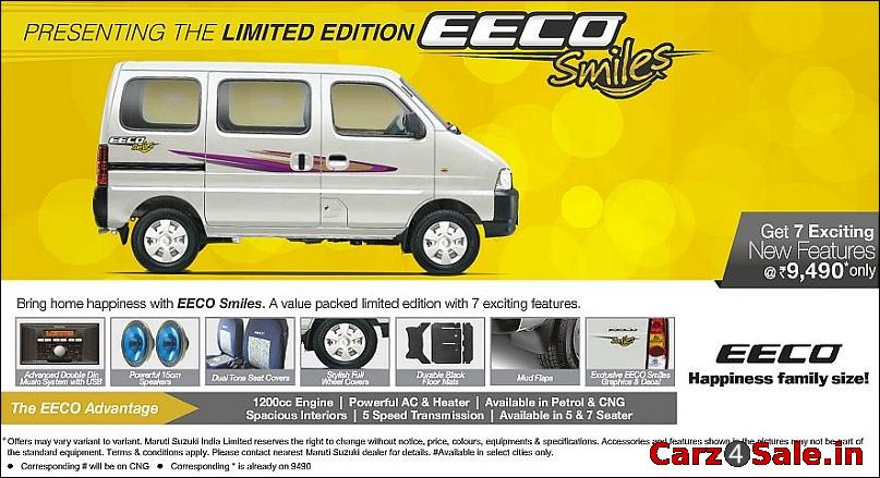 2013 Maruti Suzuki Eeco Smile limited edition