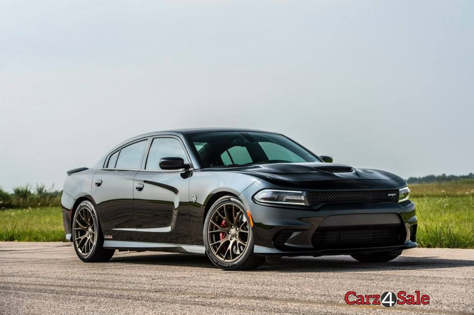 2015 Hennessey Dodge Charger Hellcat Front Right View