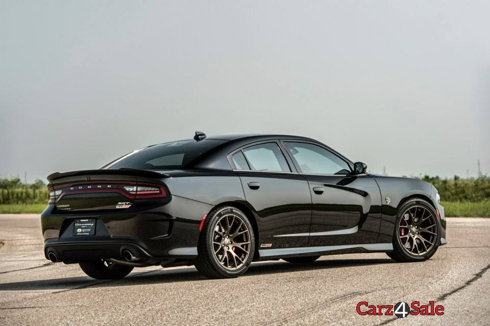 2015 Hennessey Dodge Charger Hellcat Rear Right View