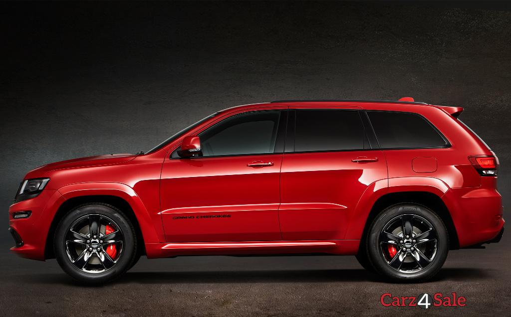 2015 Jeep Grand Cherokee Srt Side View