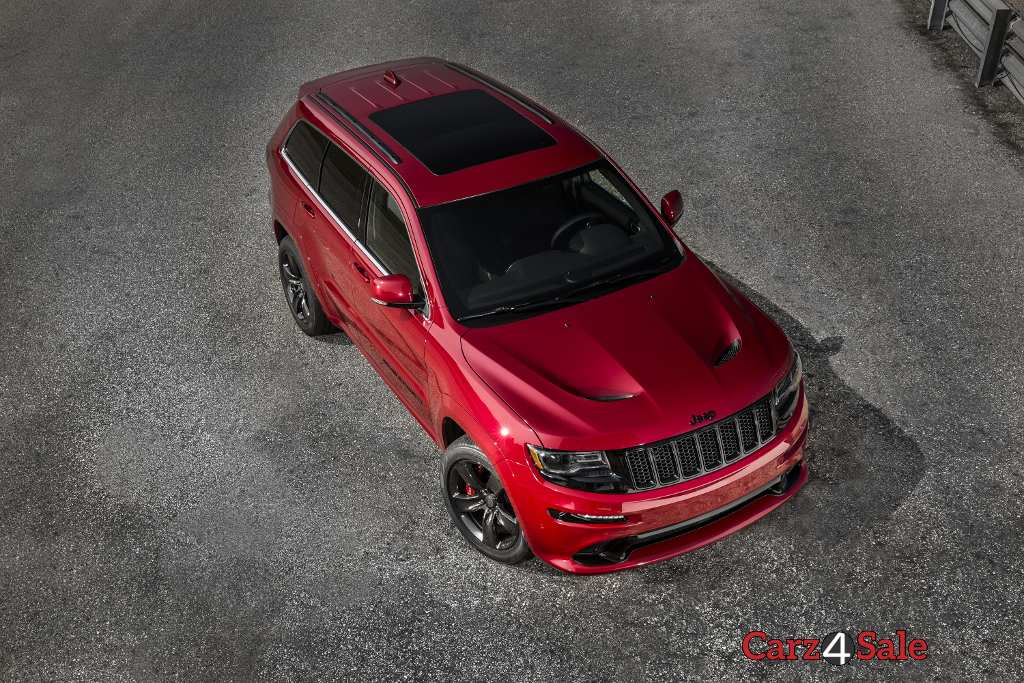 2015 Jeep Grand Cherokee Srt Top View
