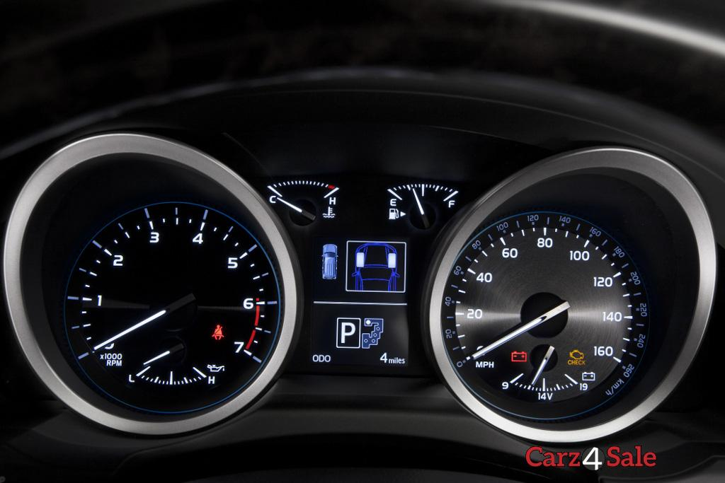 2015 Toyota Land Cruiser Speedometer