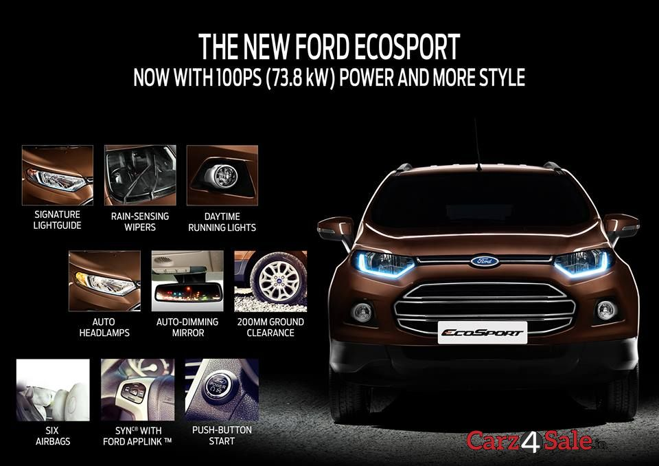 2015 Updated Ford Ecosport Catalogue