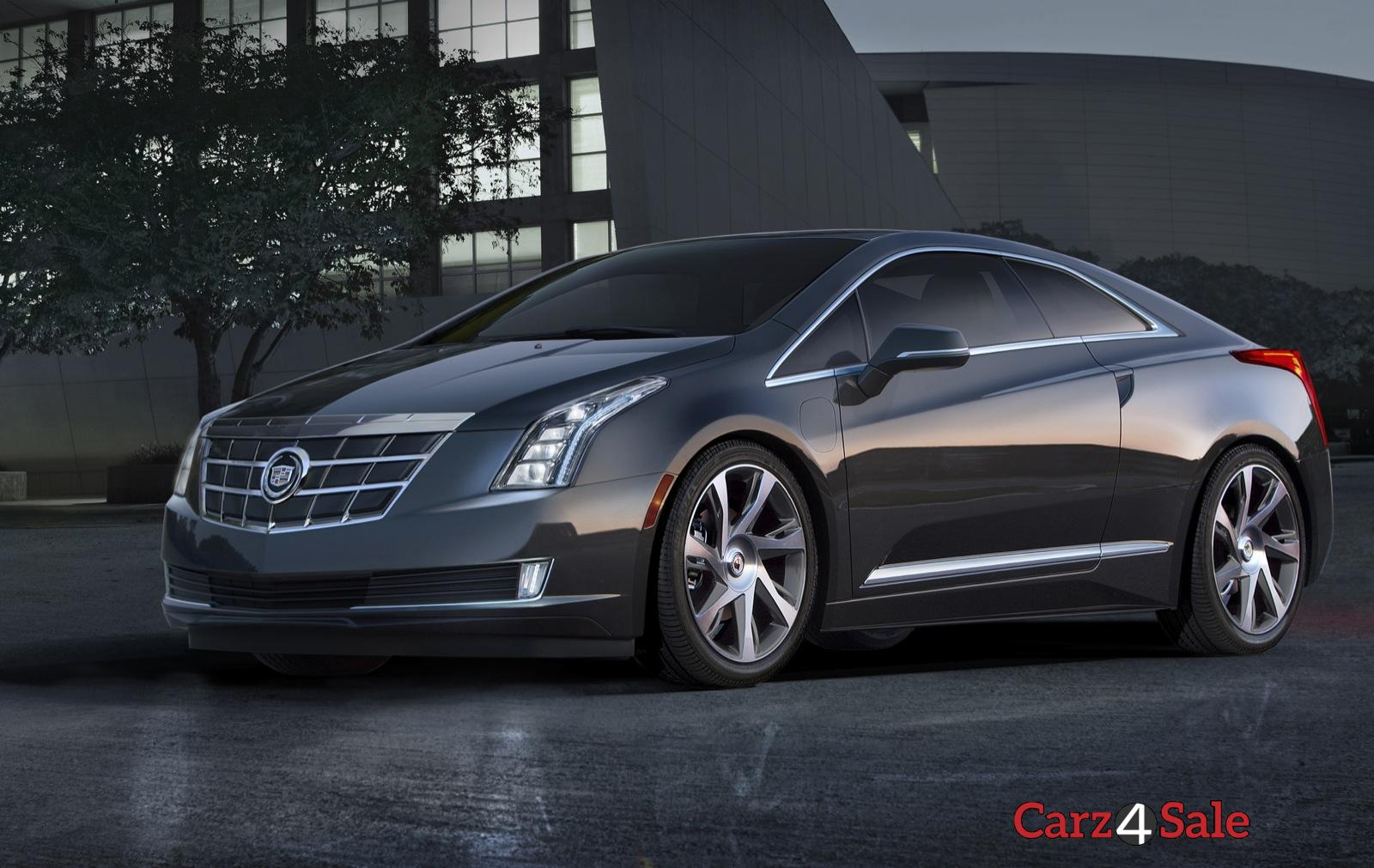 2016 Cadillac Elr Front Left View