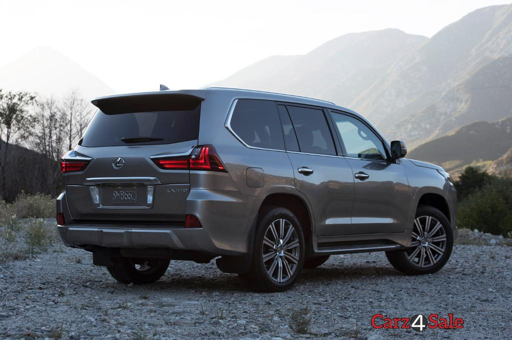2016 Lexus Lx 570 Rear Right View