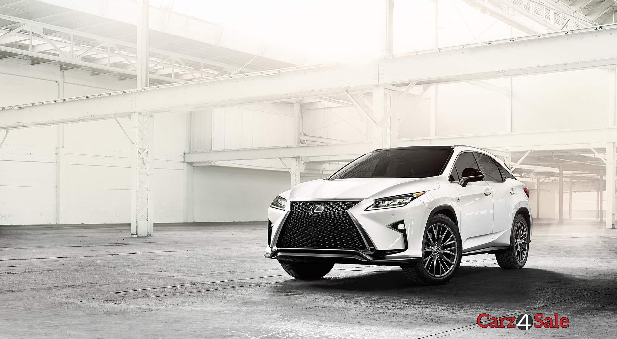 2016 Lexus Rx Front Angle View