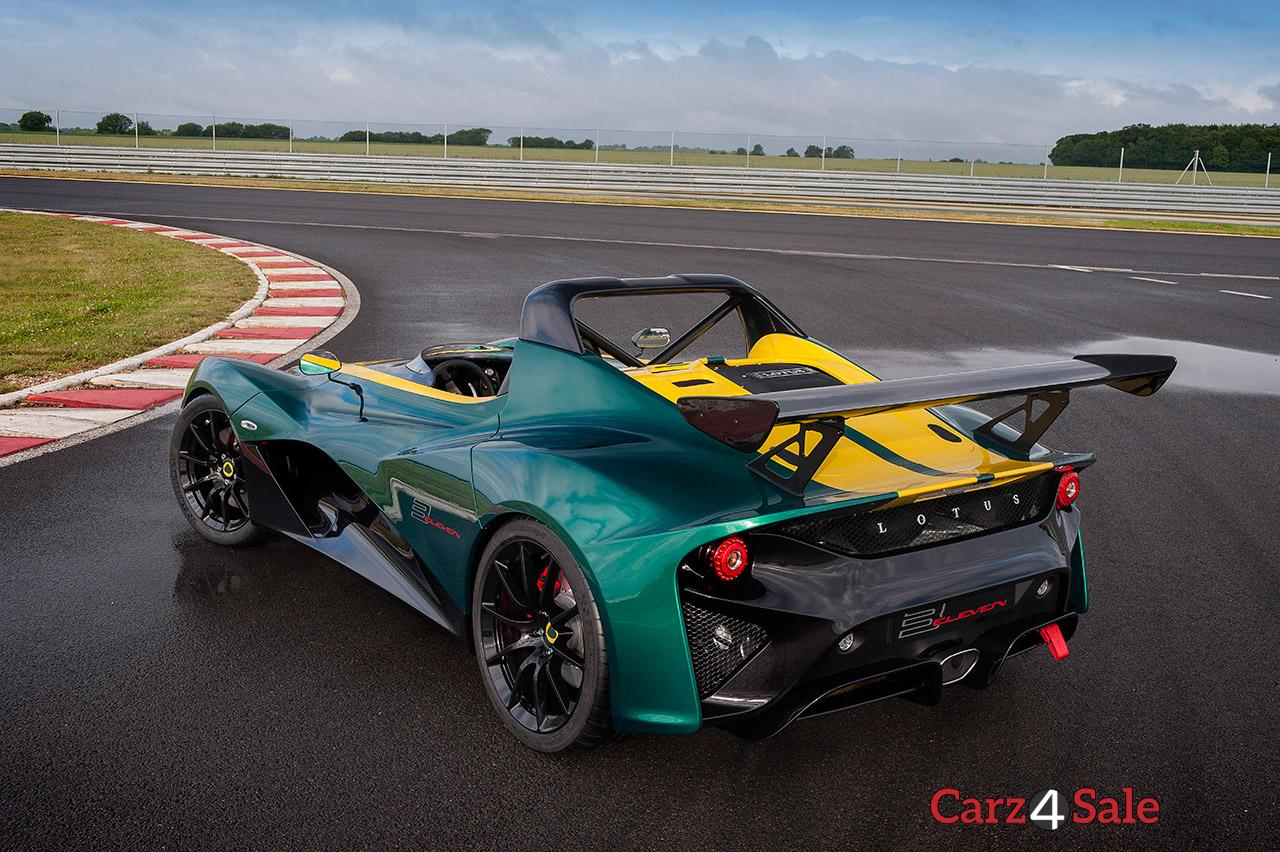2016 Lotus 3 Eleven Rear Left View