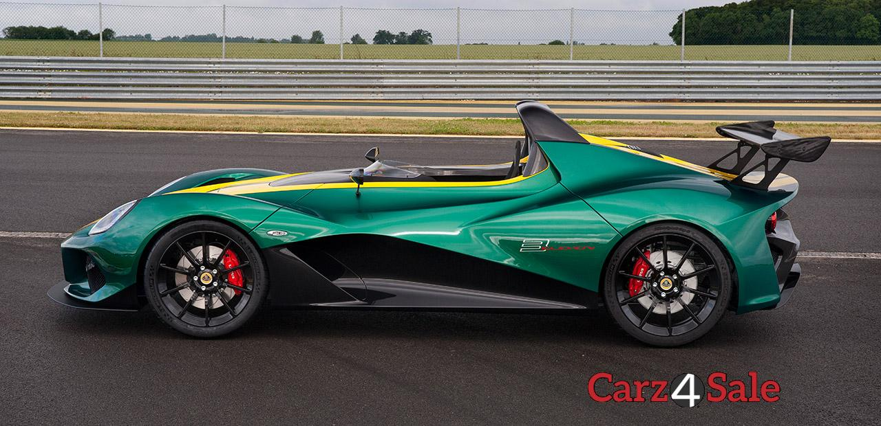2016 Lotus 3 Eleven Side View