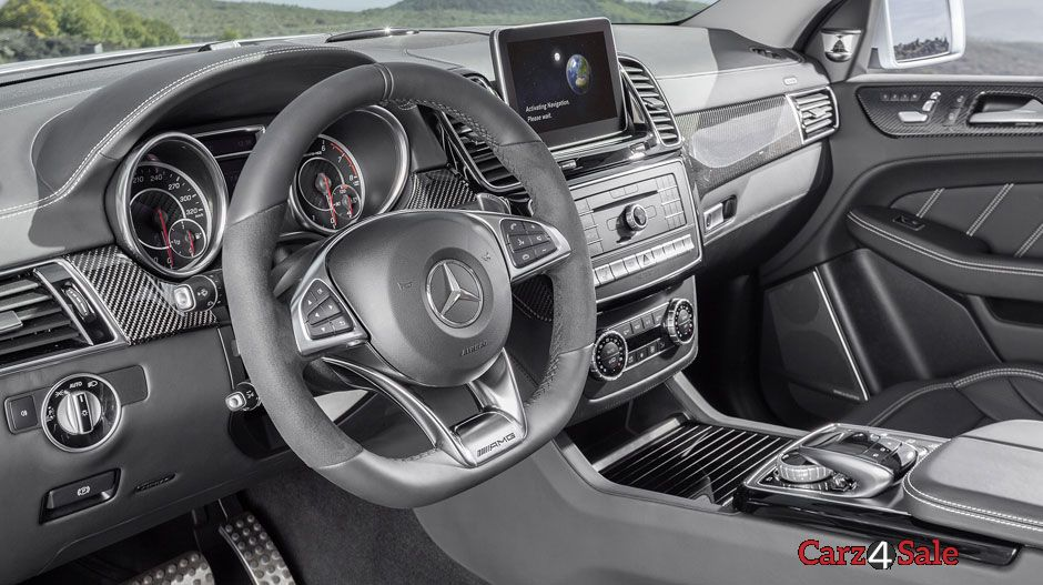 2016 Mercedes Amg Gle63 S Coupe Interior