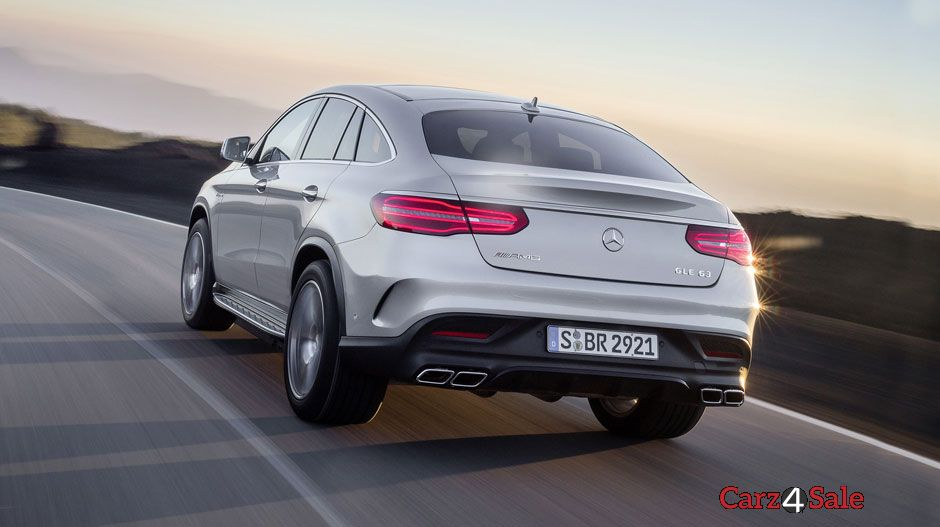 2016 Mercedes Amg Gle63 S Coupe Rear