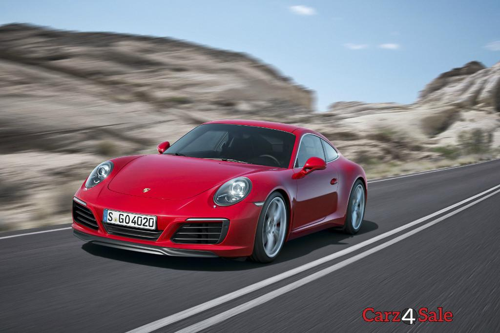 2016 Porsche 911 Carrera Turbocharged Front Left View