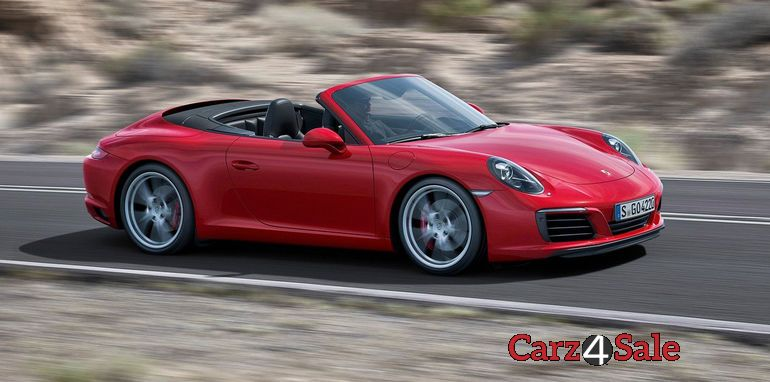 2016 Porsche 911 Carrera Turbocharged Side View