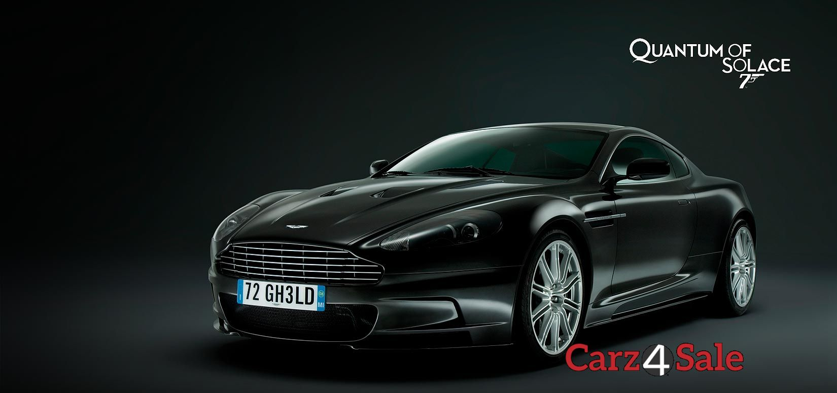 Aston Martin DBS V12 James Bond