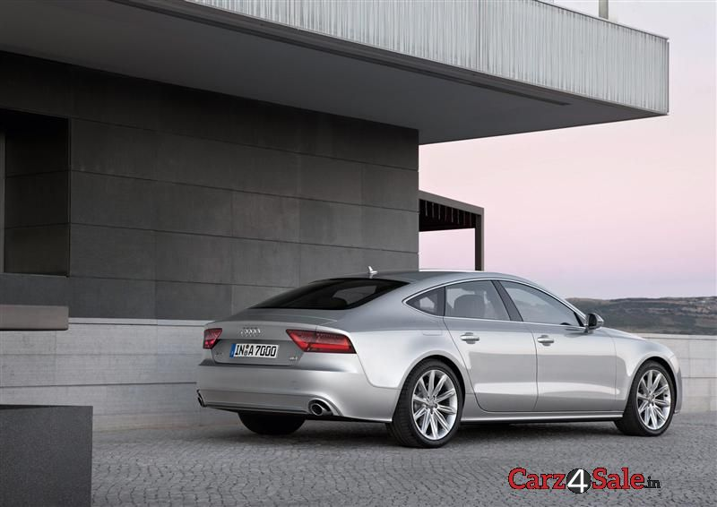 Audi A7 Sportback Rear Right Side