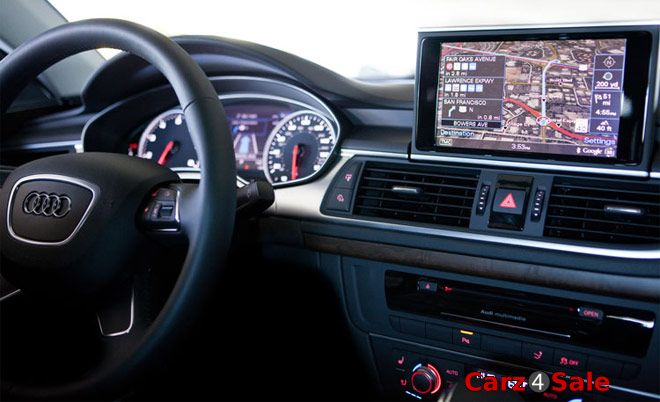Google Android Tablet PC in Audi