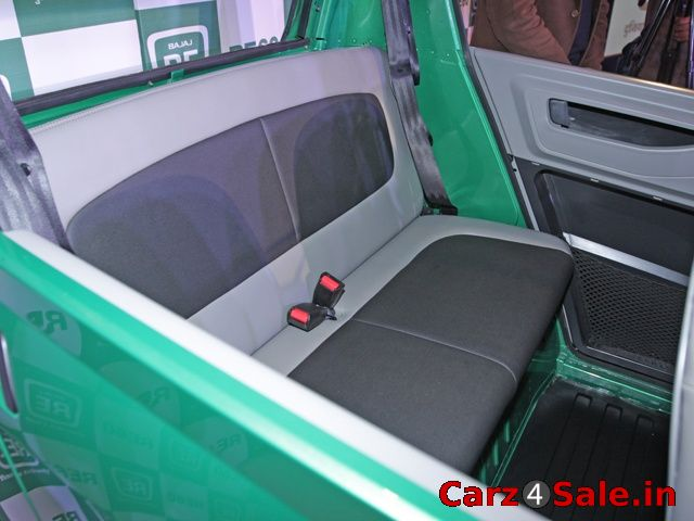 Bajaj RE60 seats
