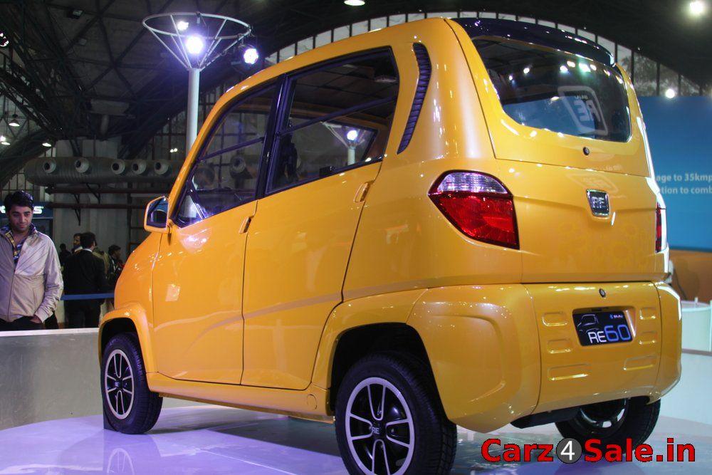 Bajaj Auto Unveils Their First Four Wheeler-RE60 - Carz4Sale