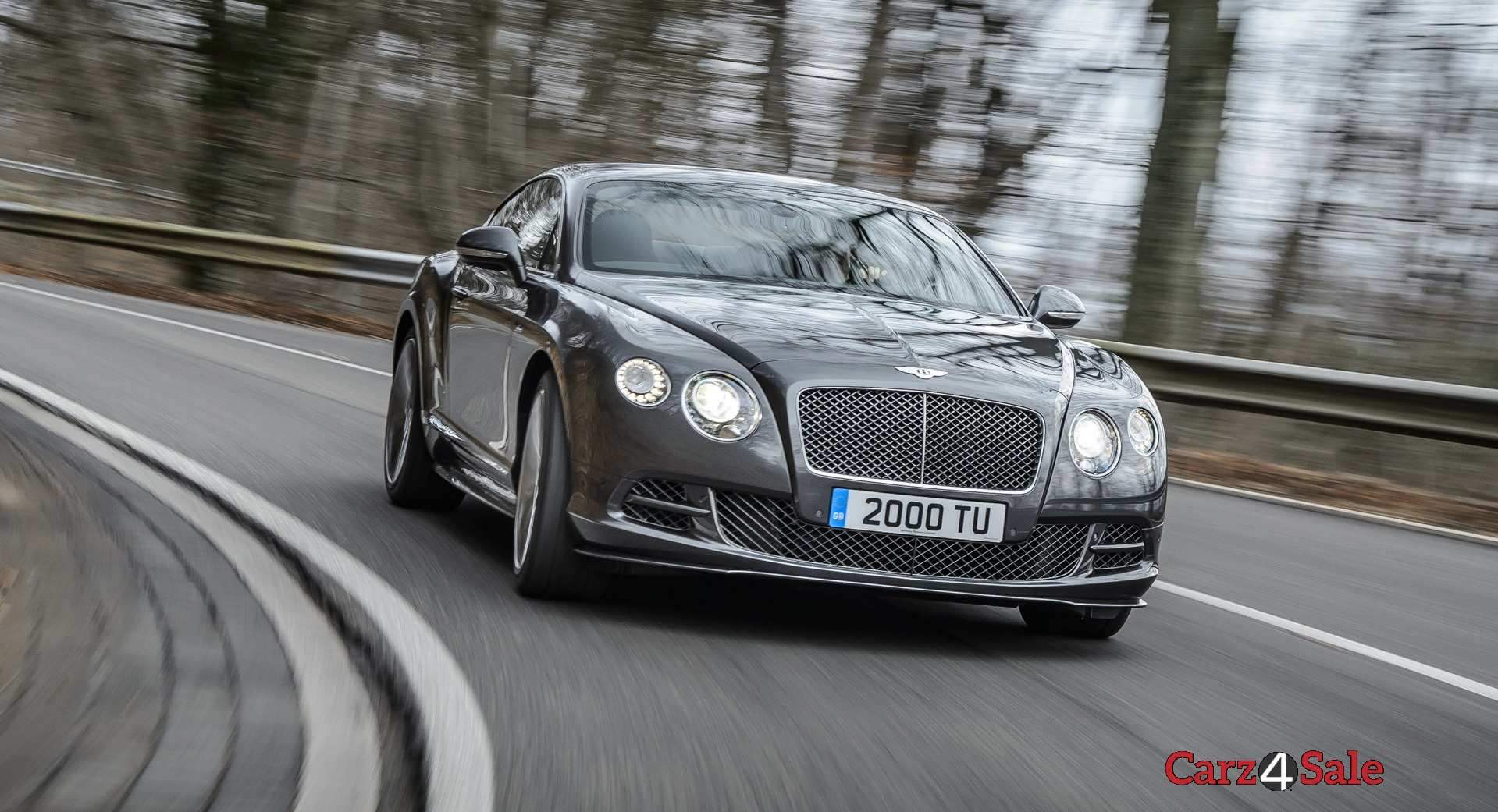 Bentley Continental Gt Speed Front Angle