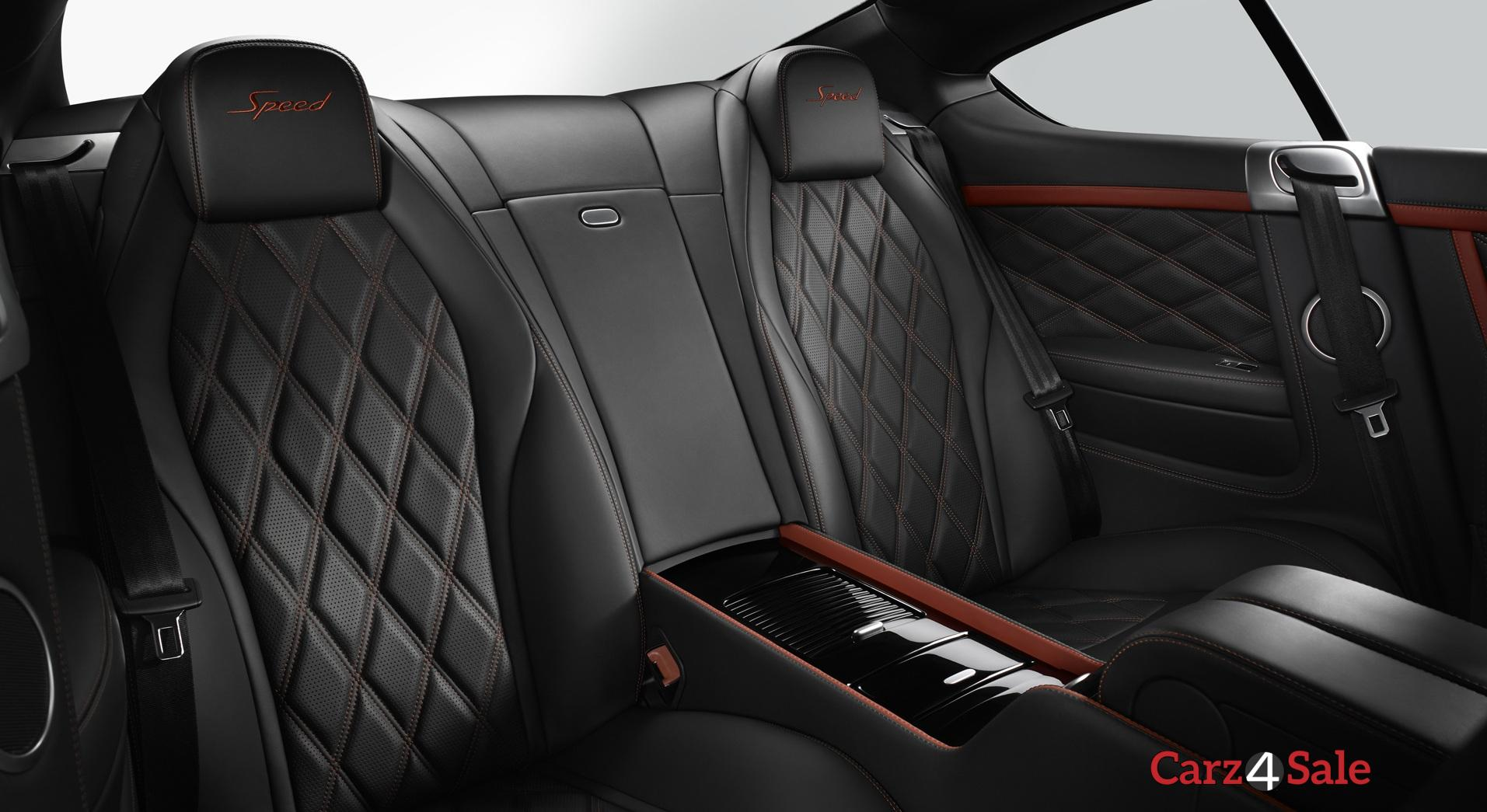 Bentley Continental Gt Speed Rear Seats