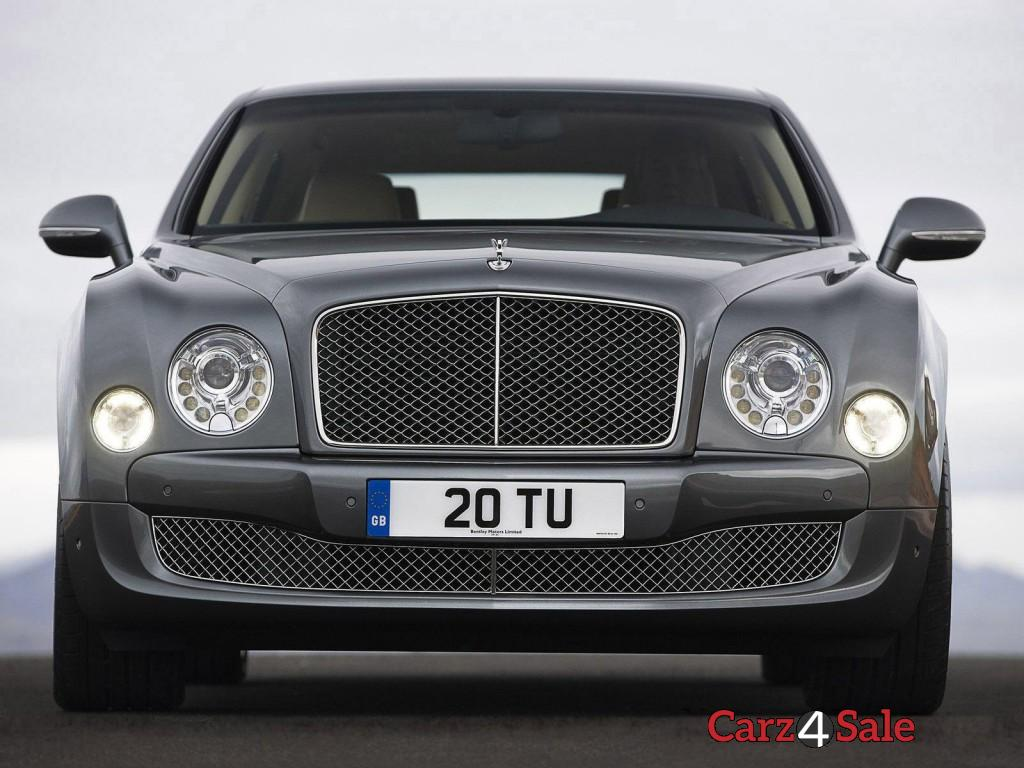 Bentley Mulsanne Front Close Up