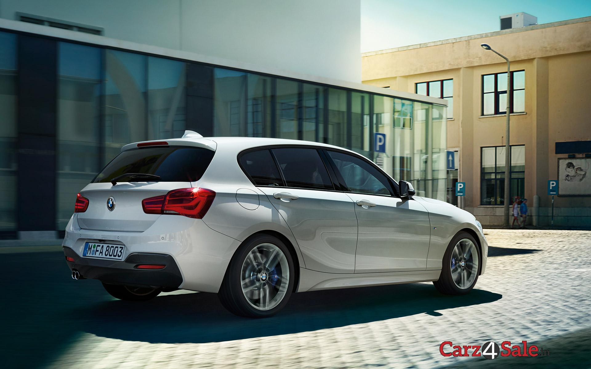 Bmw 1 Series Rear Right Side View