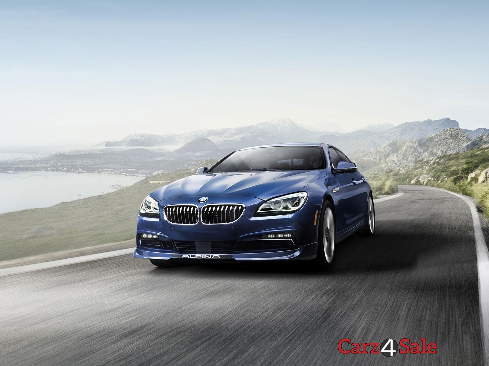 Bmw Alpina B6 Xdrive Gran Coupe Front View