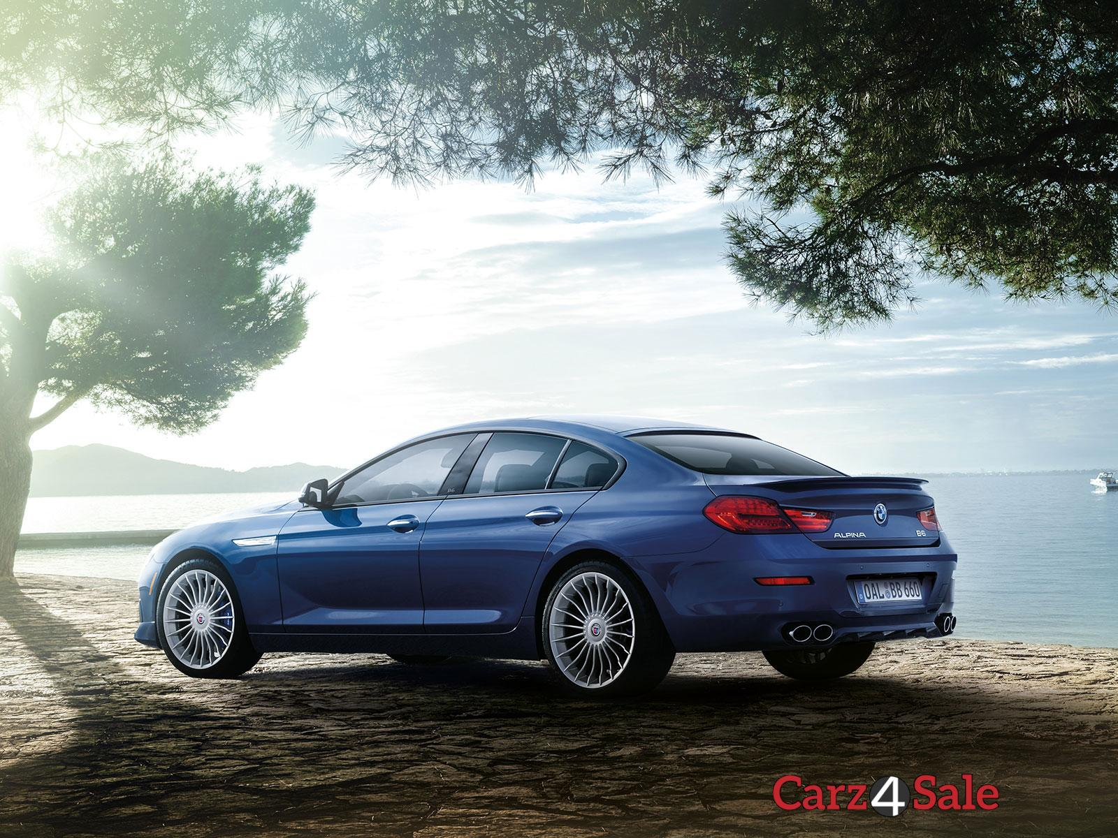 Bmw Alpina B6 Xdrive Gran Coupe Rear View