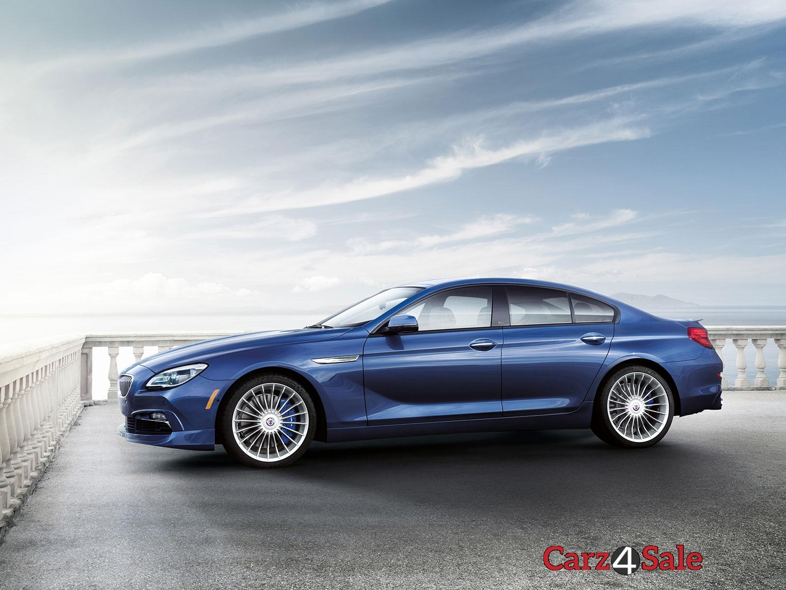 Bmw Alpina B6 Xdrive Gran Coupe Side View