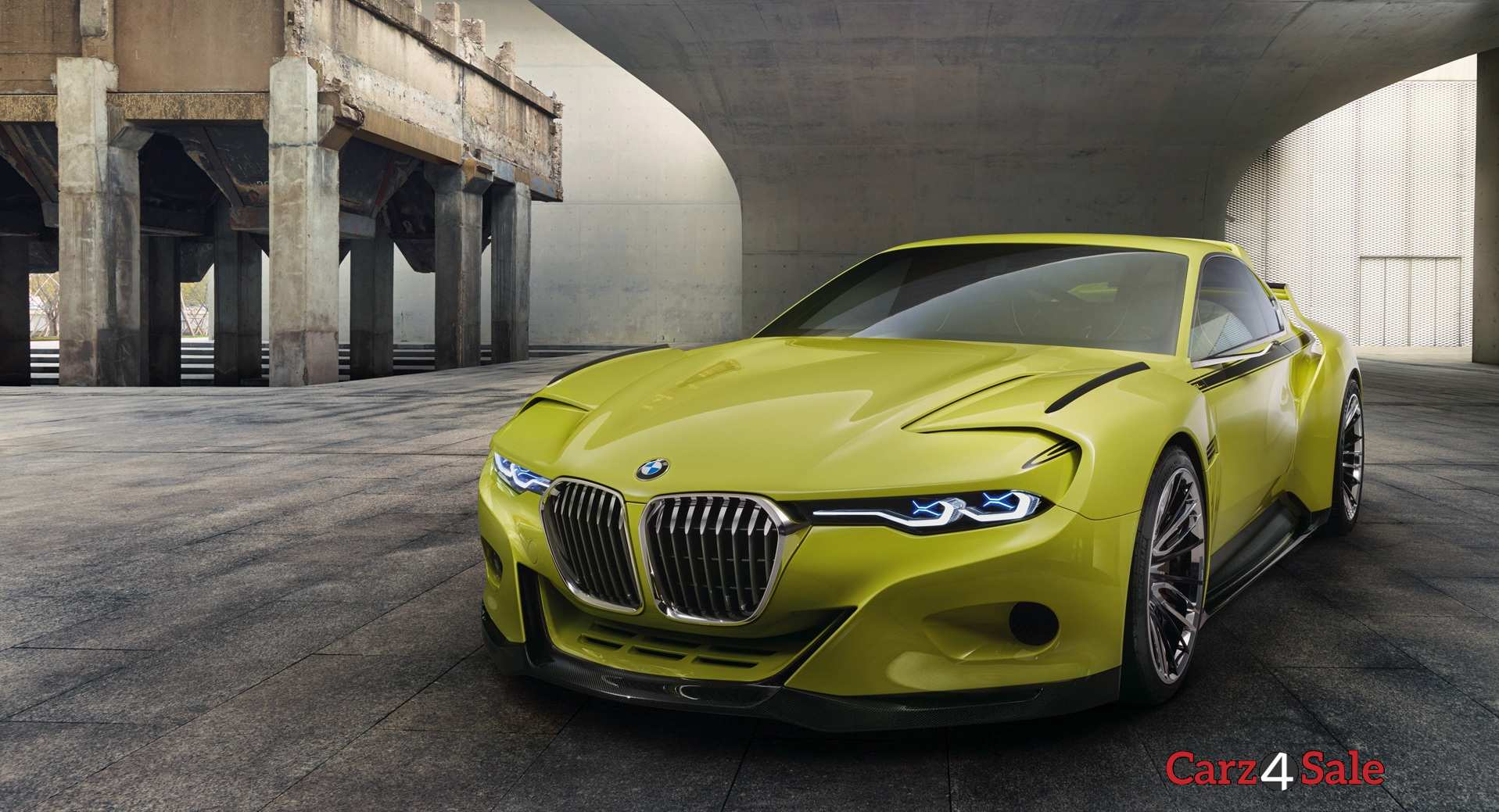 Bmw Csl Hommage R Front Left View
