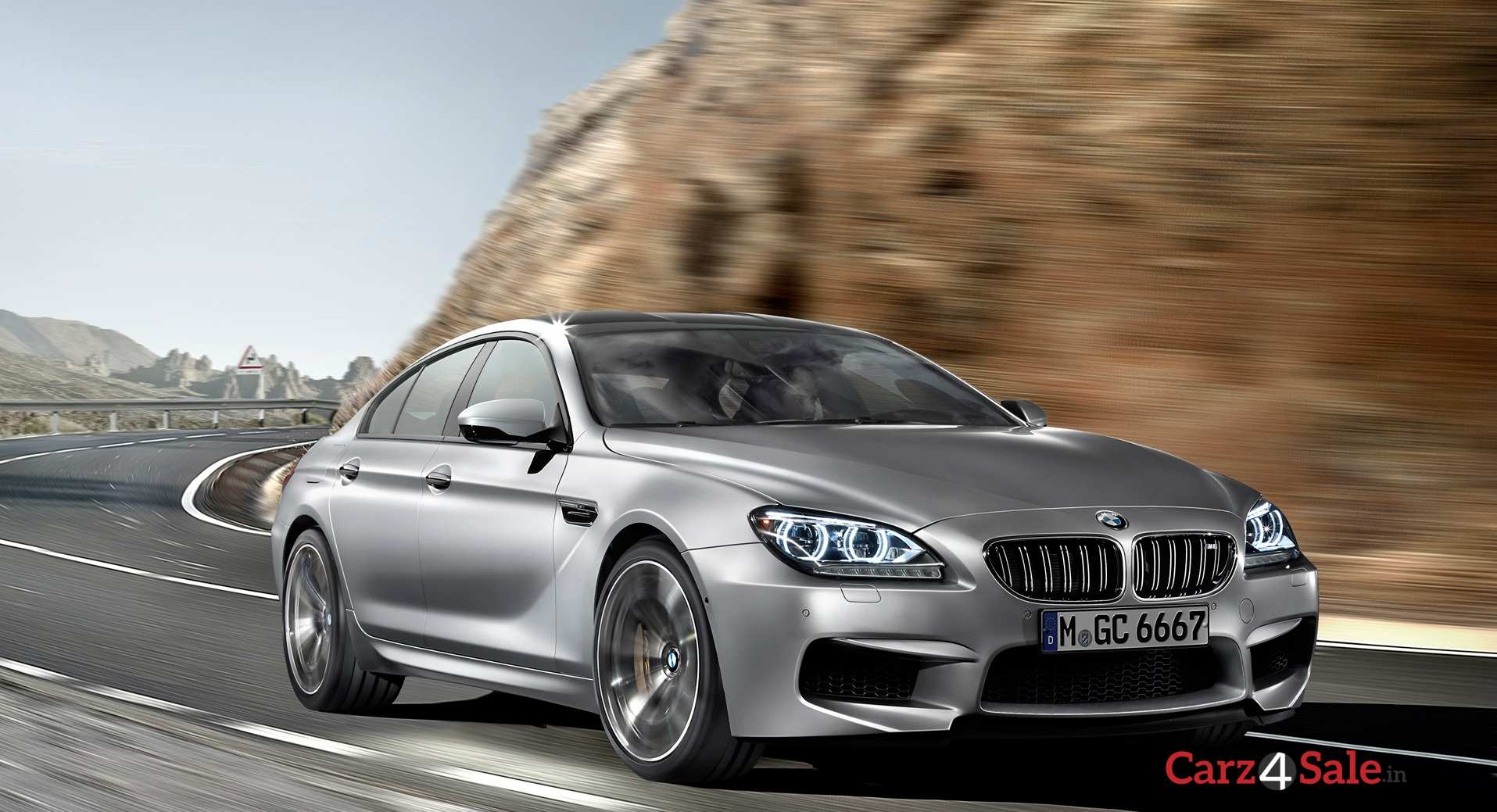 Bmw M6 Gran Coupe Front Right Angle