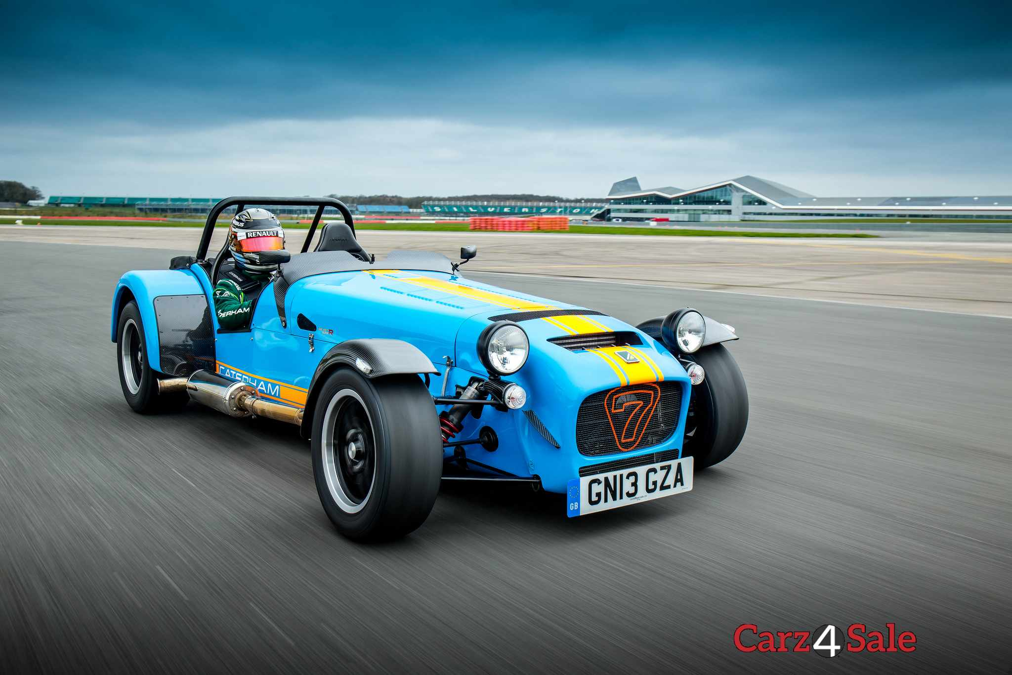 Caterham Seven 620r Front Right Angle