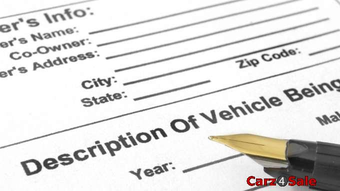 Documents for Selling a Car