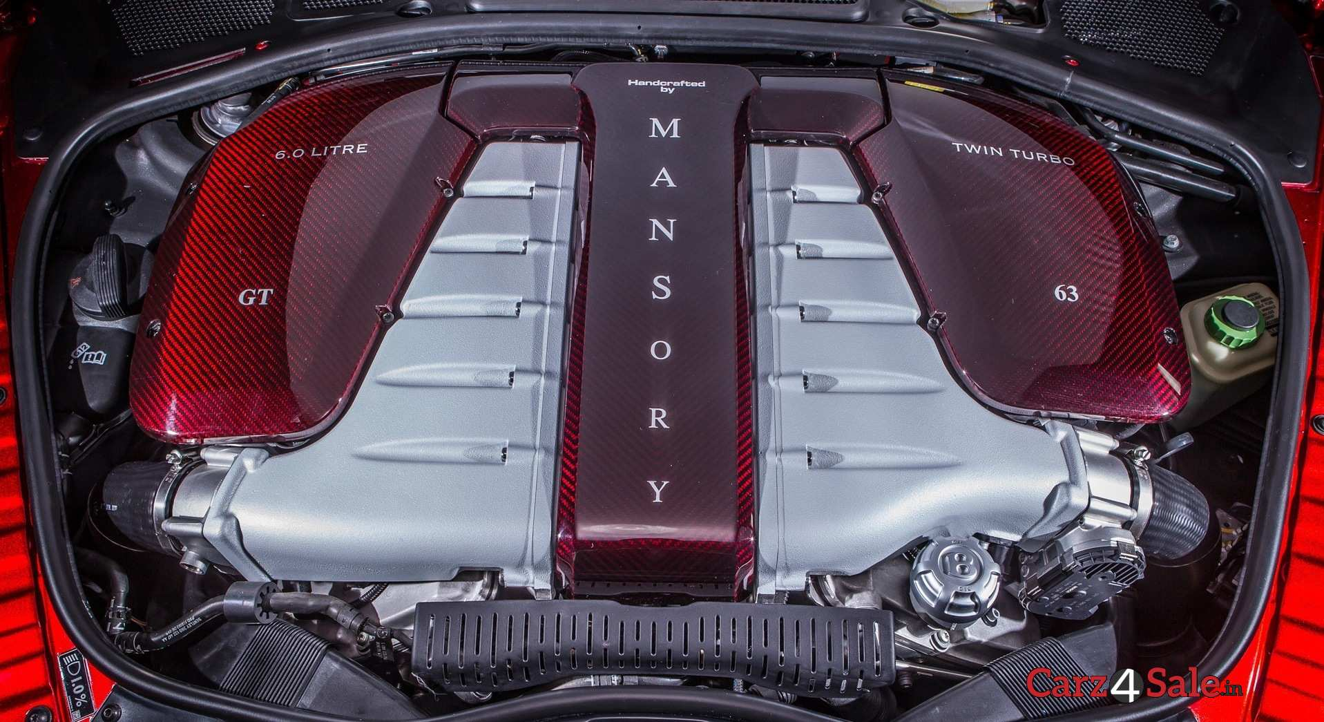 Engine Modification By Mansory