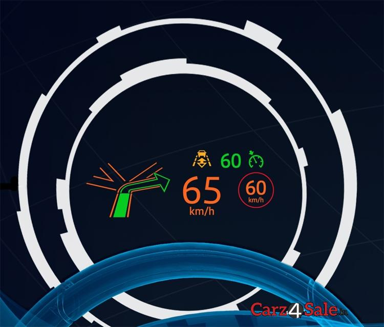 Jaguar Xe Head Up Display