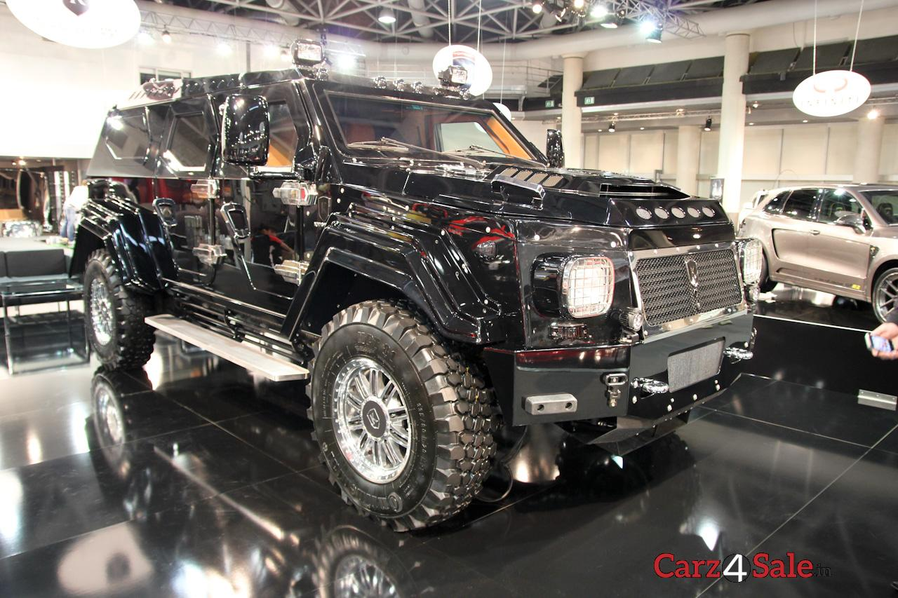 Knight XV The Hand-Built Armored Luxury SUV - Carz4Sale