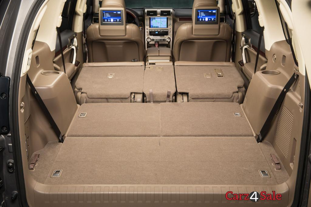 Lexus Gx 460 Boot Space