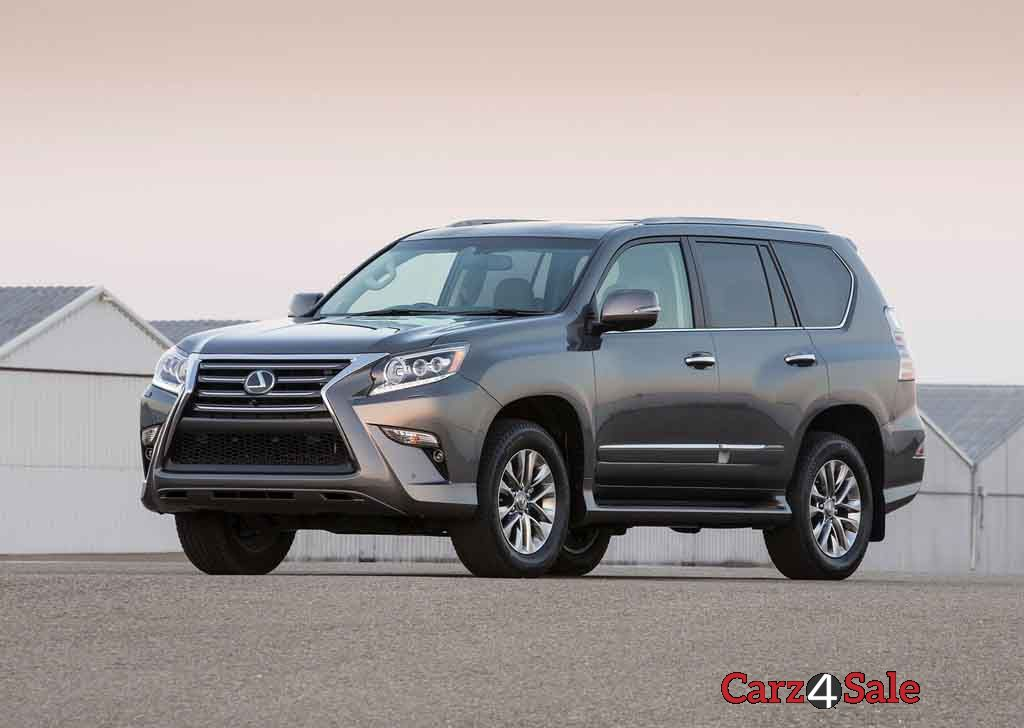 Lexus Gx 460 Front Left View