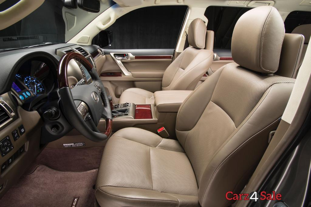 Lexus Gx 460 Interior Side View