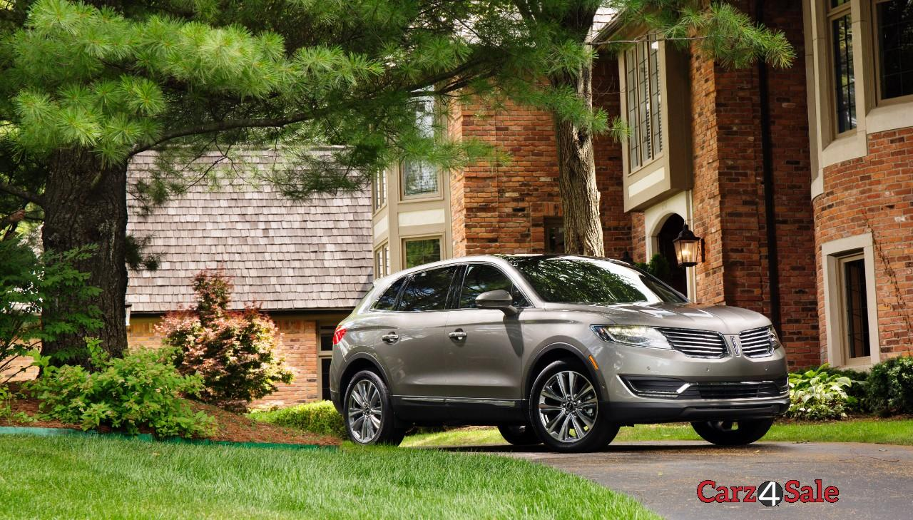 Lincoln Mkx Front Right View
