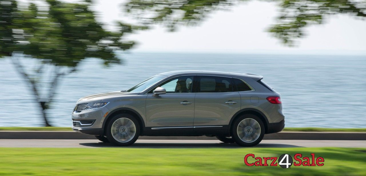 Lincoln Mkx Side View