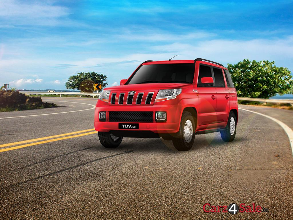 Mahindra Tuv300 Front Left View