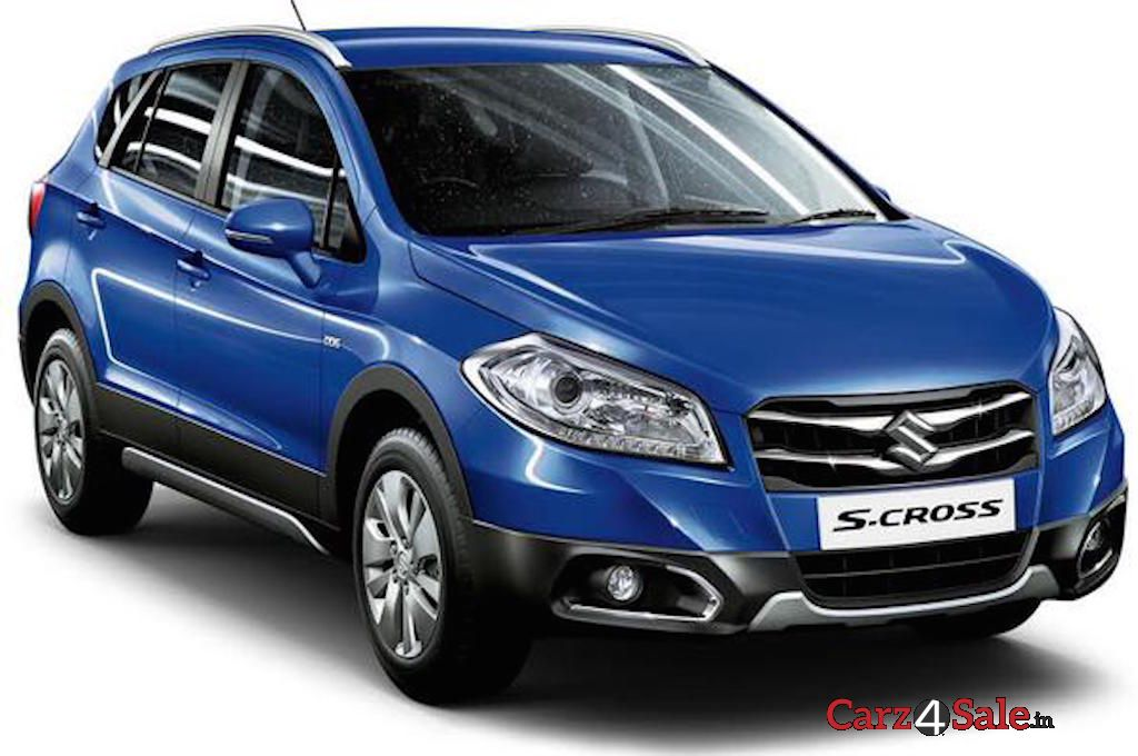 Maruti S Cross Blue