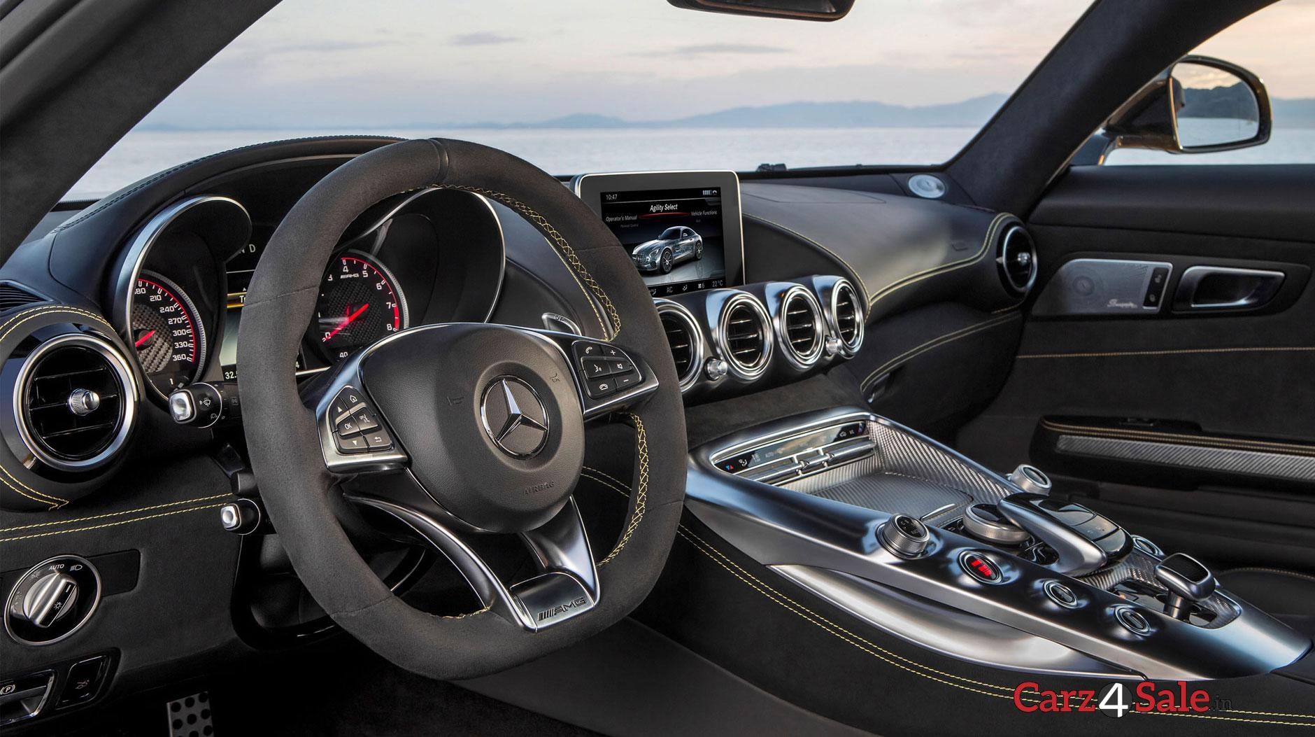 Mercedes Benz Amg Gt S 2016 Interiror